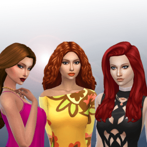 Female Long Hair Pack 10