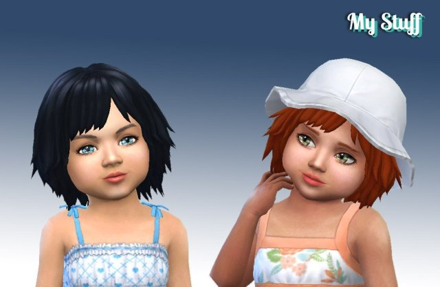 Bumbling Hairstyle for Toddlers