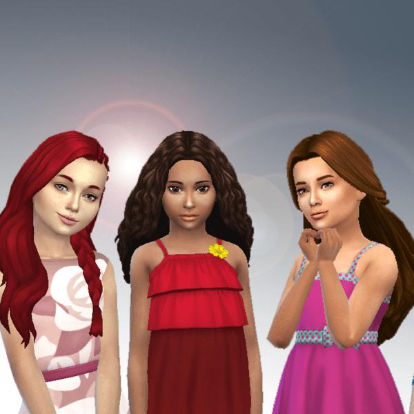Girls Long Hair Pack 11