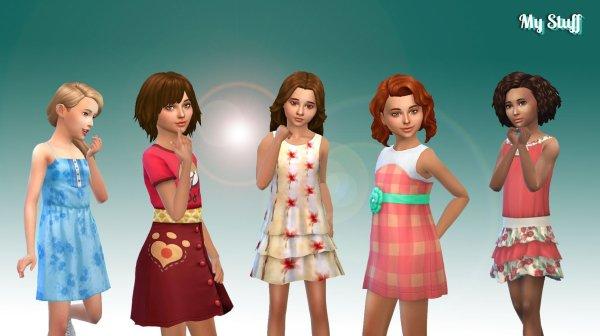 Girls Dresses Pack 2