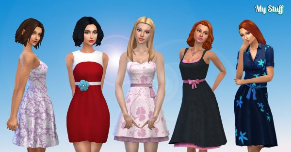 Female Dress Pack 3