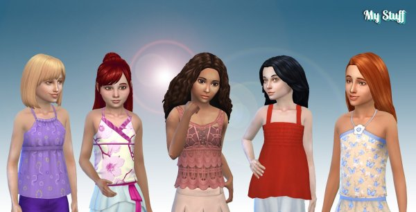 Girls Top Pack