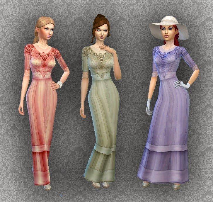 Edwardian Fashion 02