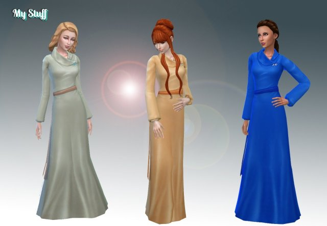 Calla Llilly Dress