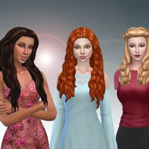 Female Long Hair Pack 14