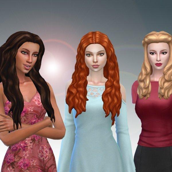 Female Long Hair Pack 14