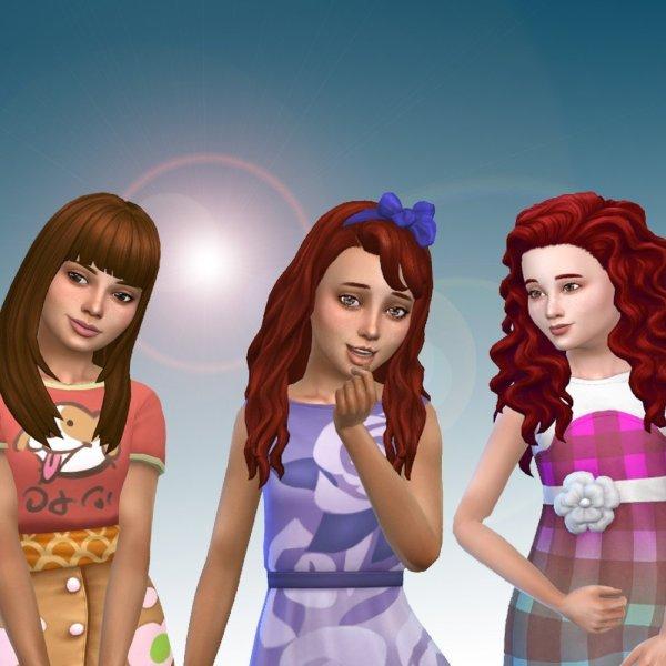 Girls Long Hair Pack 13
