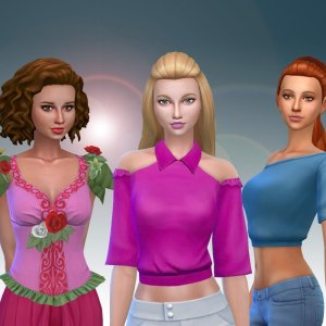 Female Top Clothes Pack