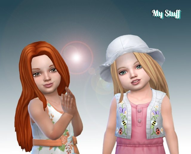 Gorgeous Hairstyle for Toddlers