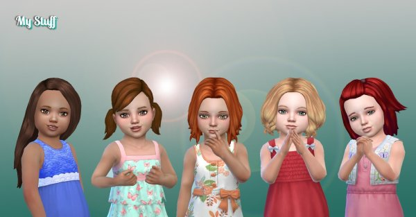 Toddlers Hair Pack 20