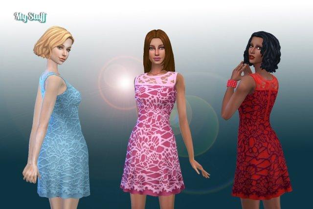 Dress Lace Conversion