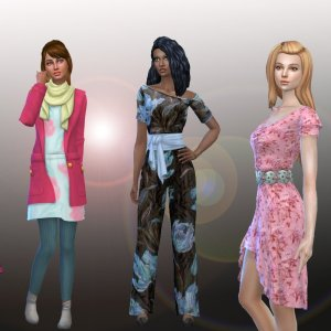Female Body Clothes Pack 4
