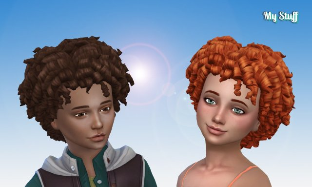 Tight Curls for Kids