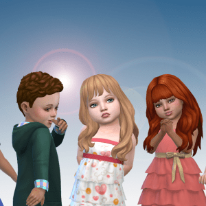 Toddlers Hair Pack 23
