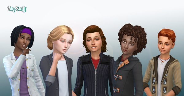 Boys Hair Pack 9