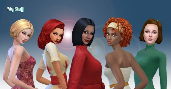 Female Medium Hair Pack 11