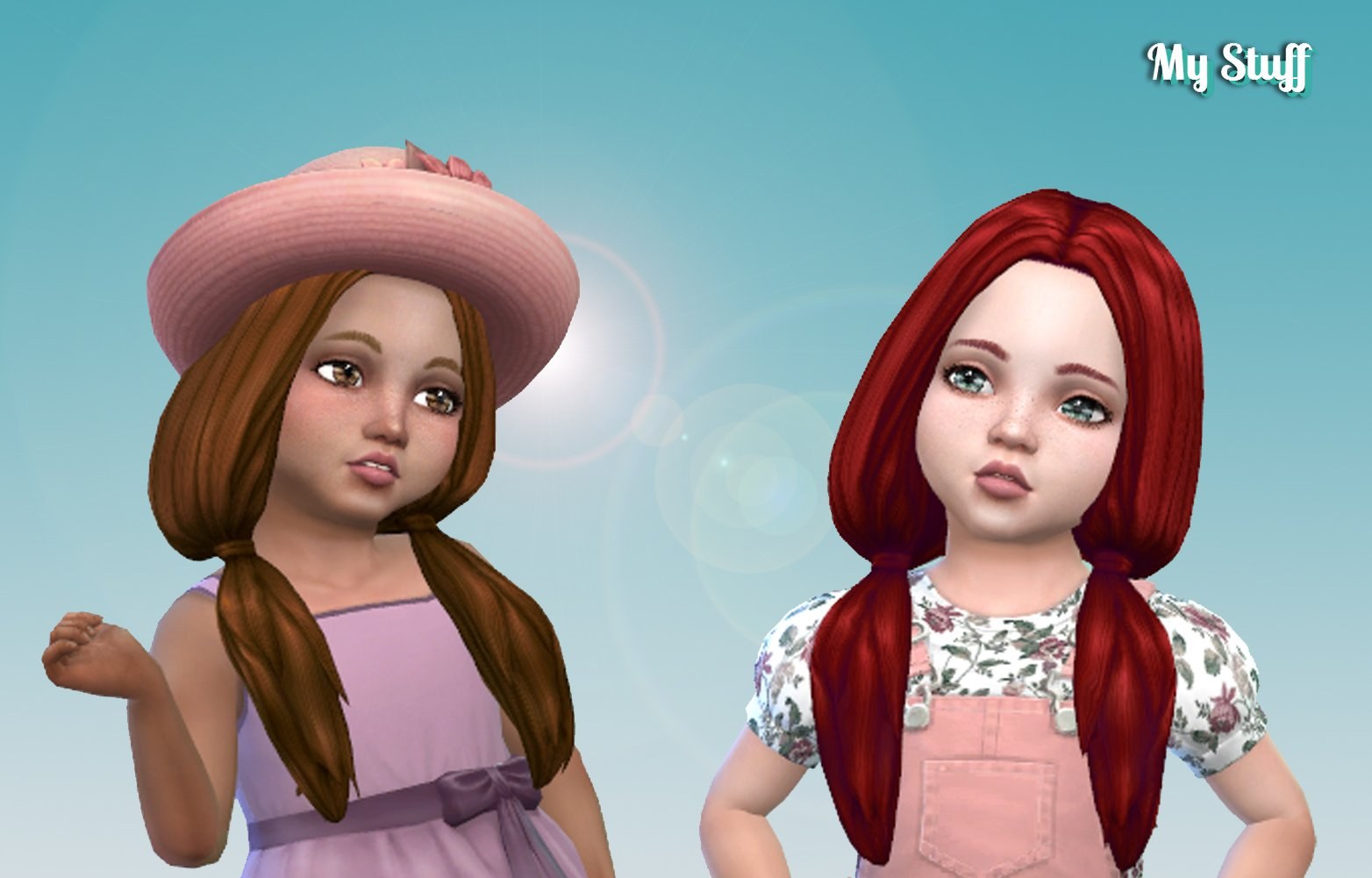 Candy Hairstyle for Toddlers