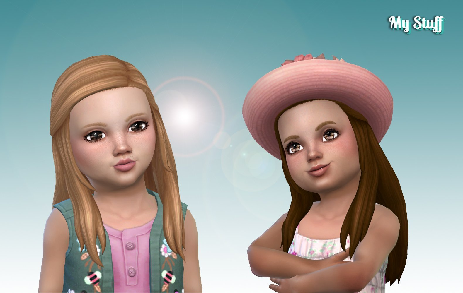 Faith Hairstyle for Toddlers