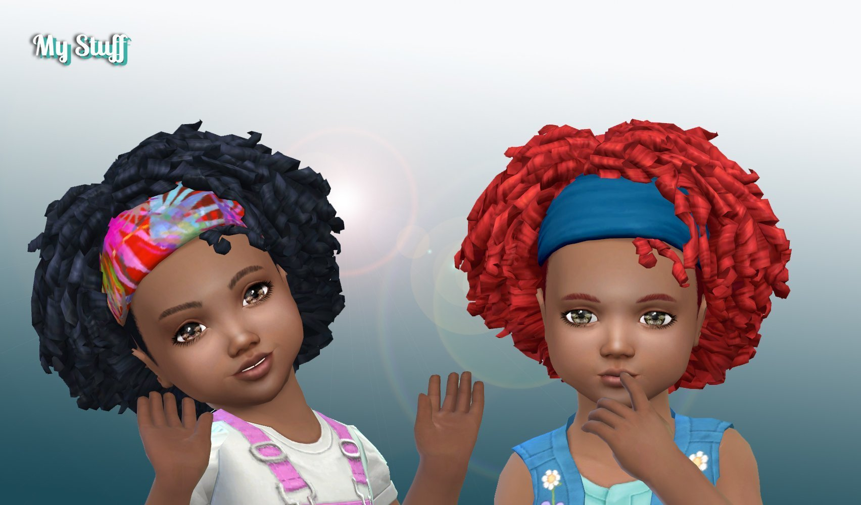 Tight Curls Bandana for Toddlers