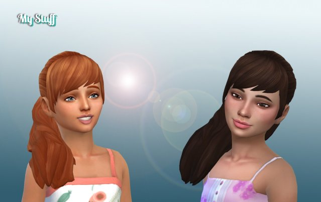 Zoey Hairstyle for Girls