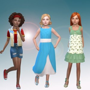 Girls Body Clothes Pack 2