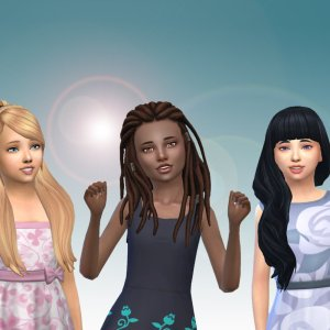 Girls Long Hair Pack 20