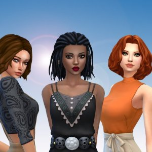 Female Medium Hair Pack 13