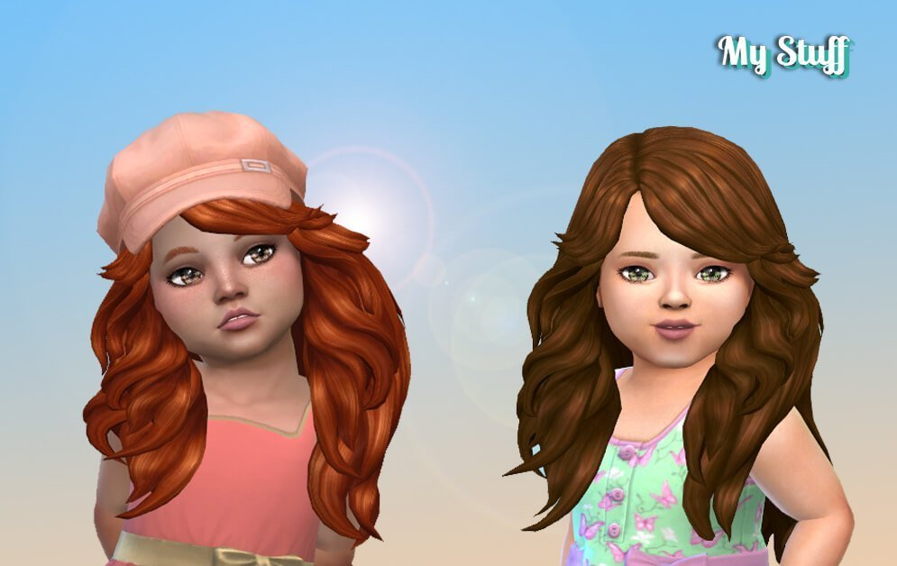 Farrah Hairstyle for Toddlers