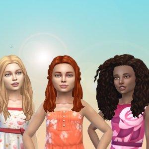 Girls Long Hair Pack 22