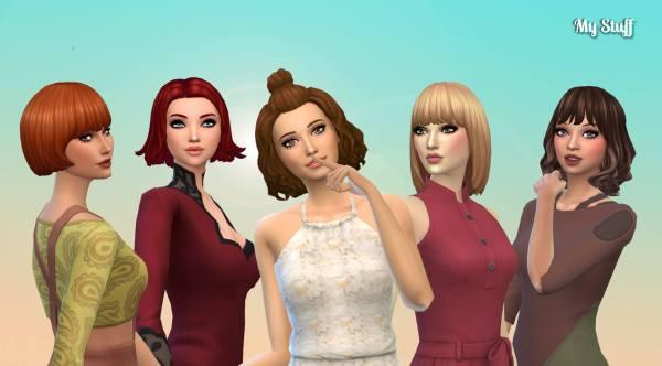 Female Medium Hair Pack 15