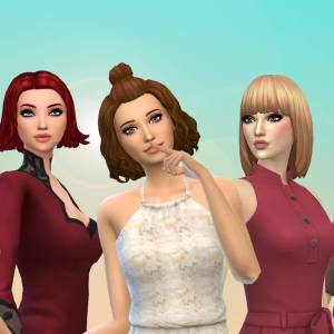 Female Medium Hair Pack 15