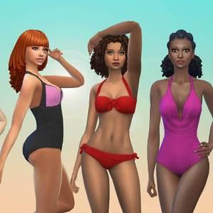 Female Swimwear Pack 2