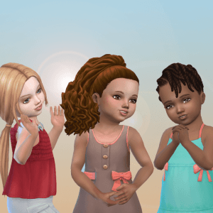 Toddlers Hair Pack 33