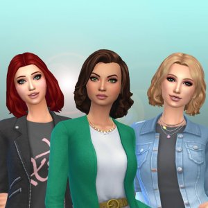 Female Medium Hair Pack 17