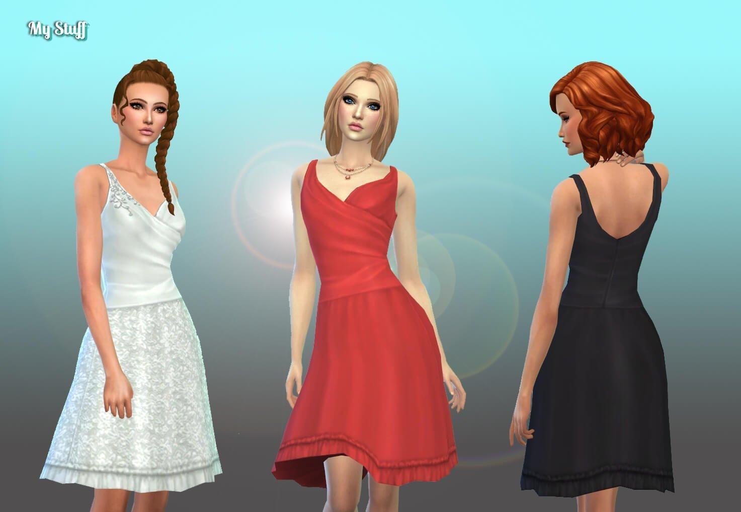 TS2 Short Wedding Dress