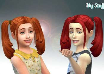 Harley Quinn Hairstyle for Girls