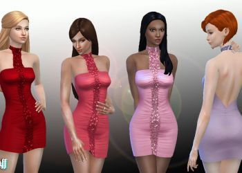 TS2 Night Life Dress Conversion
