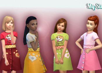 City Living Dress for Girls