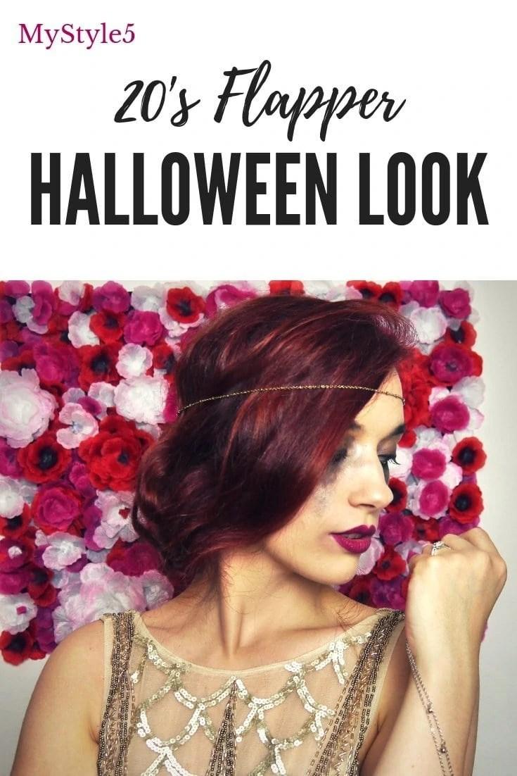 20's Flapper Halloween Look