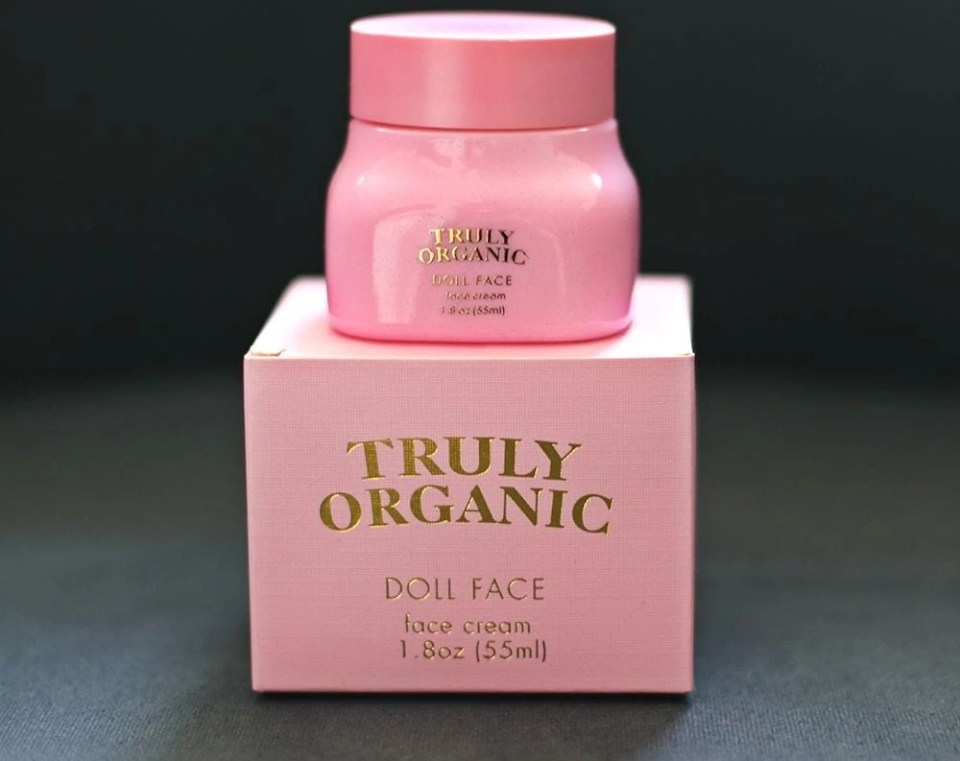 Truly Organic Doll Face Cream
