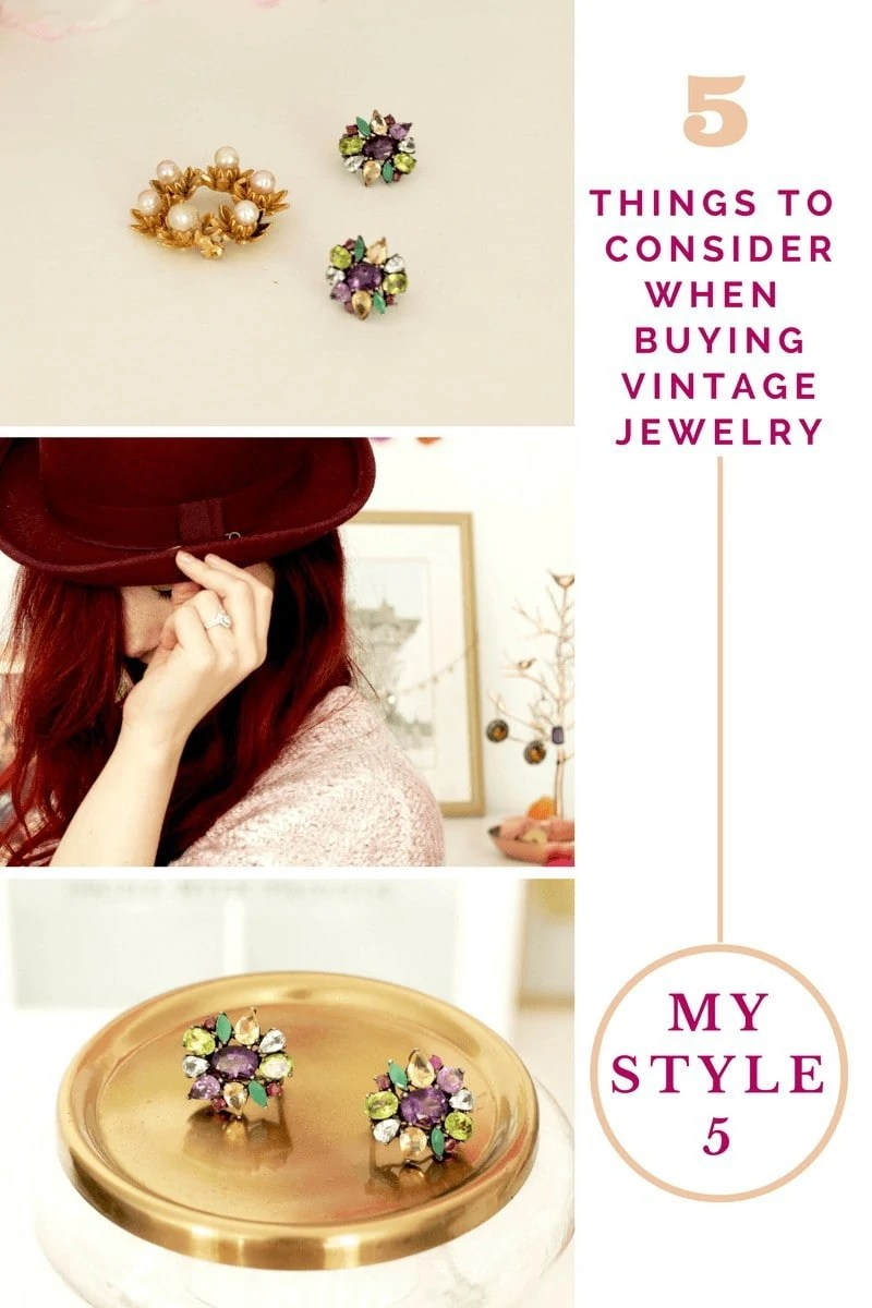 Shopping for Vintage Jewelry: 5 Things to Consider