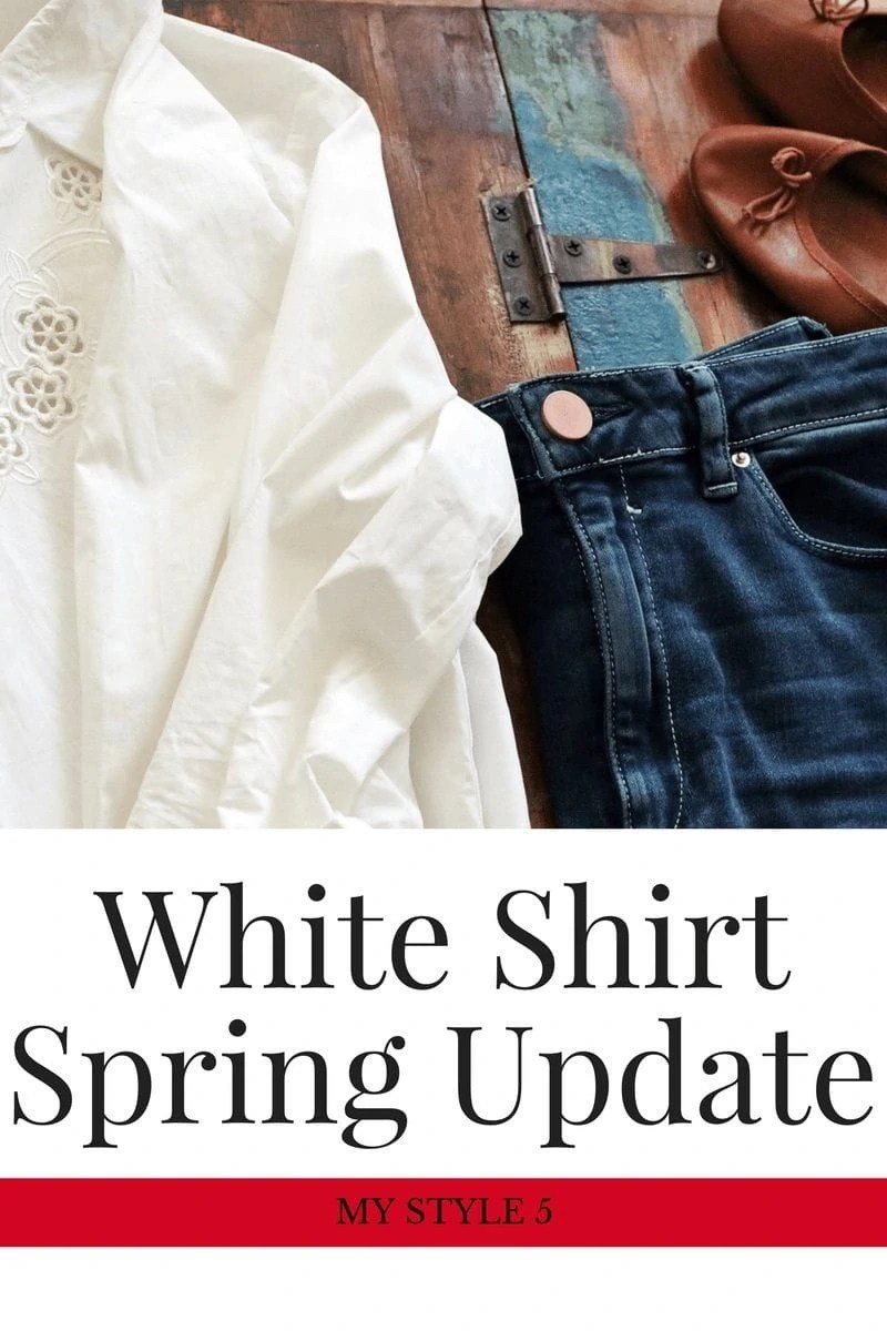 5 Tips for Updating Your Classic White Shirt