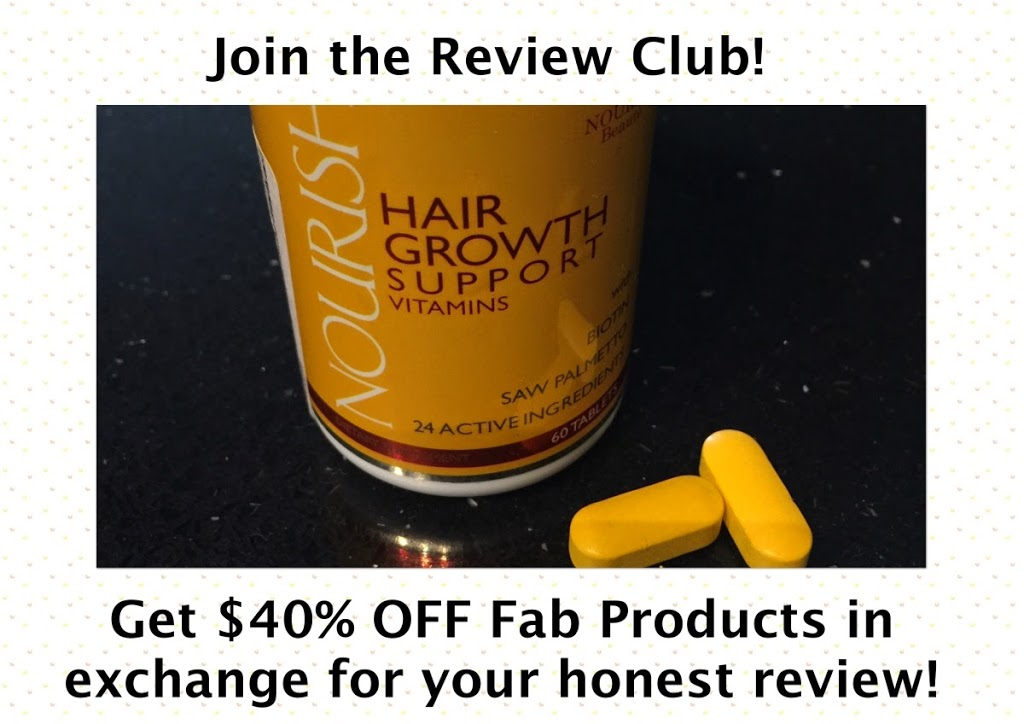 join nourish review club and get 40% off products in exchange for your honest review