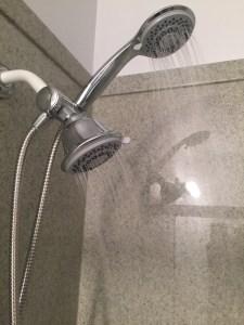 Aquastorm spa adjustable double shower head blogger review