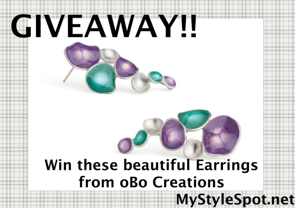 Win earrings from obo creations