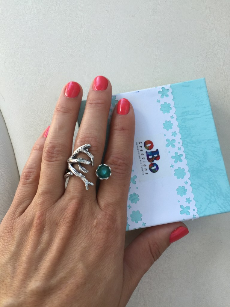 oBo Creations Jewelry Branch Ring