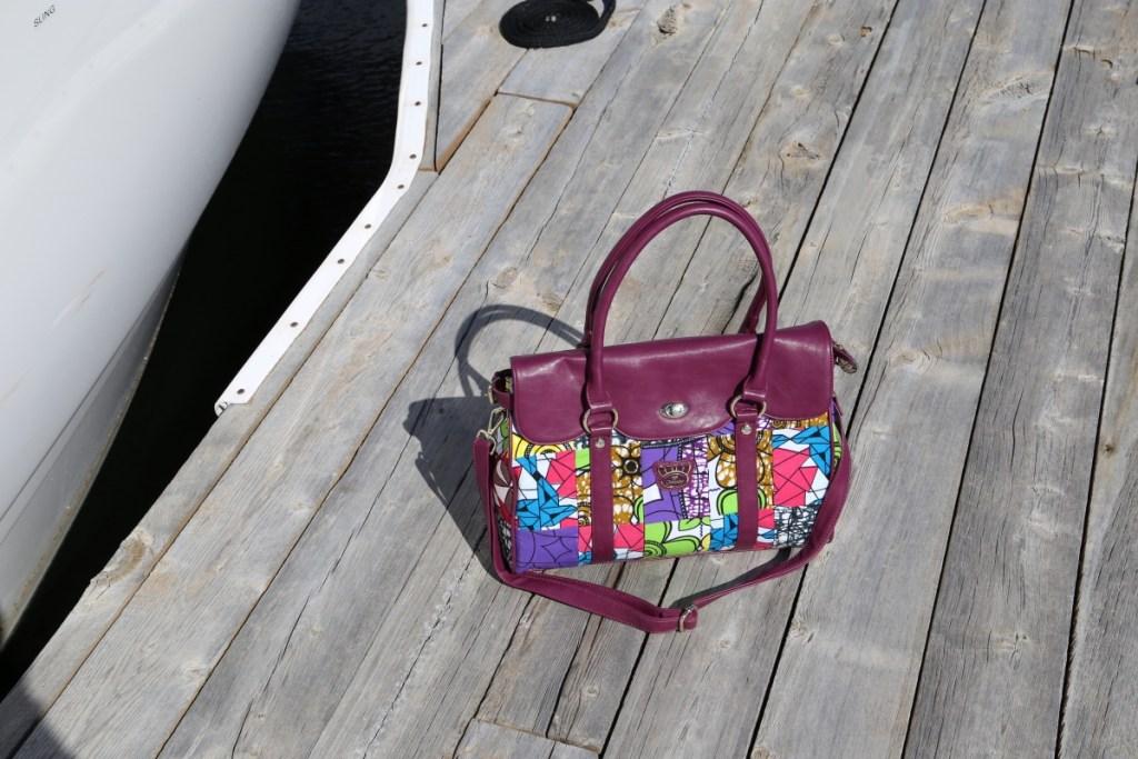Fricaine Dutchess Shouder Floral Print Handbag