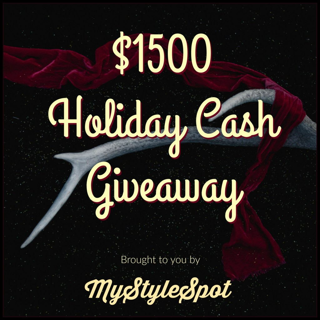 Win $1500 Holiday Cash