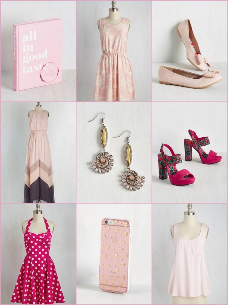 pink 30% off mod cloth sale