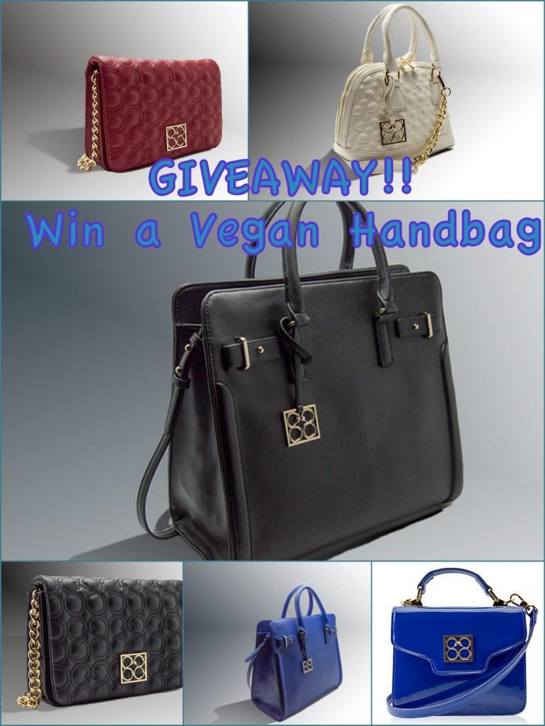 win a vegan handbag from 88 handbags